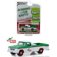 Greenlight 1/64 1962 Dodge D100 Turtle Wax Running on Empty 7