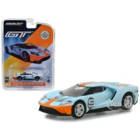 Greenlight 1/64 2019 Ford GT Heritage Edition #9 Gulf Racing