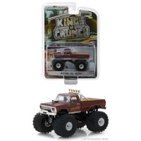 Greenlight 1/64 1979 Ford F250 Goliath Monster Truck King of Crunch 2