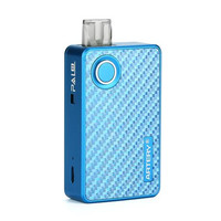 POD STARTER KIT - PAL II 1000MAH BY ARTERY AUTHENTIC BLUE CARBON FIBER