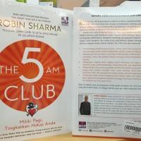 The 5 Am Club Robin Sharma Miliki Pagi TIngkatkan hidup Anda Bestselle
