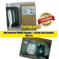 hdd 2.5 inch 500gb Seagate barracuda/firecuda+ casing