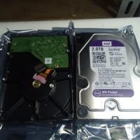 Hdd internal/hardisk cctv 3.5 inch WD purple 2TB