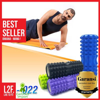Foam Roller FlexFit Yoga Pilates / Bantal Senam Trigger Point Massage