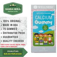 Wellness Calcium Gummy 60 + 10 70 Gummy Bears