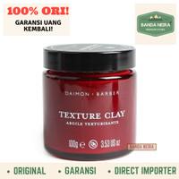 Daimon Barber Texture Clay Original Impor Murah Pomade