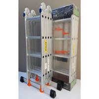 Tangga Aluminium Multipurpose 5,8 mtr Merk SKALAZ