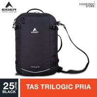 Eiger Tectona Trilogic Laptop Bagpack 30L - Black