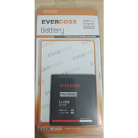 EVERCOSS A74A . A74D . A54 . E2 . A74C - Original Baterai Batre Batrai