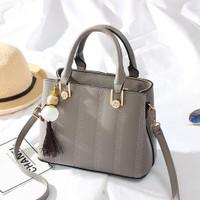 89006 tas import tote bag jinjing slempang pergi kantor wanita abu