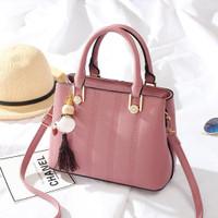 Tas Batam tas import tas wanita tas Slempang korea 89006 pink