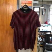 EASTLORE Striped Tshirt BIGSIZE - Kaos Garis Garis Pria JUMBO SIZE
