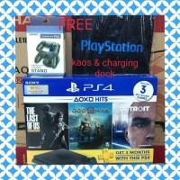 PS4 SONY PLAYSTATION 4 SLIM 1 TB BUNDLE HITS PLUS FREE