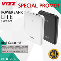 Power Bank Vizz LITE 5000 mAh Original Powerbank 5000mAh Ori