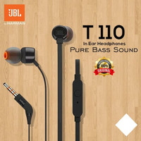 Headset JBL T110 Original by Harman Earphone Handsfree IN HEADPHONES