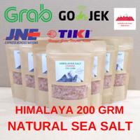 100% Himalayan Salt Coarse Rock Garam Himalaya 200 Grm Pink Salt Garem