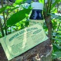 Minyak kayu balitung kalimantan obat anti uban pelebat rambut