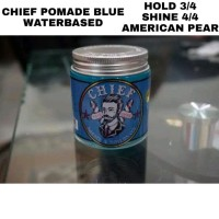 CHIEF BLUE POMADE 4.2 oz kemasan beling