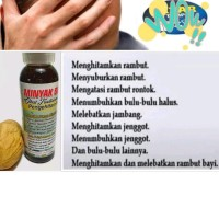 Minyak Buah Ulin Kalimantan Minyak Pelebat Rambut Minyak Penghitam