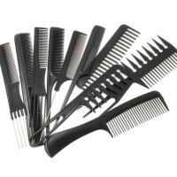 Sisir Pomade Sisir Barbershop Salon Pangkas Rambut 1 set isi 10