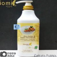 Iomi Whitening Shower Cream Shea Butter - Original - 1.000 ml - Sabun