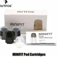 MINIFIT POD CATRIDGE Authentic JUSTFOG - Per Pcs