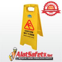 Caution Wet Floor Signage Foldable ( Papan Peringatan )