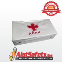 Kotak P3K Putih Lengkap + Isi / Kotak Obat P.P.P.K / Peralatan P3K