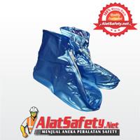 Jas Hujan Sepatu / Mantel Sepatu / Raincoat Shoes Biru / Cover Shoes