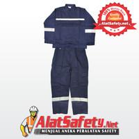 Wearpack / Baju kerja & Celana Kerja Biru/Navy / Wearpack Setelan Vin