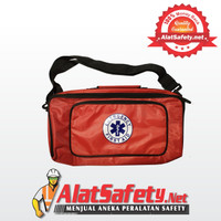 Tas P3K Slempang / Tas Emergency Slempang / First Aid Bag Merah
