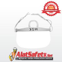 Masker Plastik Transparan / Masker Pelindung Mulut / Masker Bening MSK