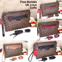 REBSUSHOP CLUTCH BONIA TAS WANITA FASHION IMPORT DOMPET SLING BAG TAS