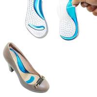 Silicon Gel Kaki Insole Gel Sepatu Alas Kaki Bahan Silicone