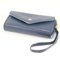 Dompet Korea Wanita Penyimpan Uang & HP Bahan Pu Leather High Quality