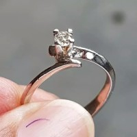 Paling Laristerhits Diamond Ring Cincin Berlian Asli Kalimantan