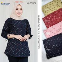 grosir baju yunisa blouse waffle