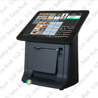 Mesin Kasir All In One Pos Terminal Touchscreen Codesoft TCP-138