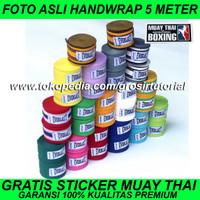 SEPASANG Handwrap Everlast 5 Meter Premium, Wrap Boxing Everlast