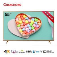 """PROMO TV LED CHANGHONG 55""""in SMART ANDROID UHD 4K U55H6"""