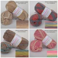 Sirdar Summer Stripes Benang Rajut Import