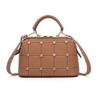 tas tote bag wanita 89685 import coklat selempang jinjing batam kerja