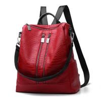 85071 tas wanita backpack ransel cewek import murah multifungsi korea