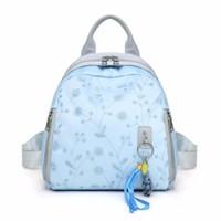ransel wanita tas backpack kekinian impor biru batam murah korea T1726
