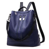 Ransel Tas Jinjing Multifungsi Biru Import Korea Wanita backpack 85071