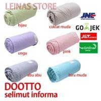 selimut / bedcover microfiber informa 100% microfiber