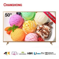 """PROMO TV LED CHANGHONG 50""""IN SMART ANDROID UHD 4K U50H6"""
