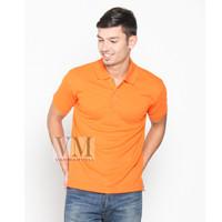 VM Kaos Polo Shirt Polos Orange