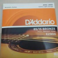 Senar Gitar Akustik 010 D'Addario EZ 900 Original