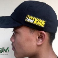 HOT SALE Patch Rubber Karet Aksesoris Samping Topi Tactical Terjarmin